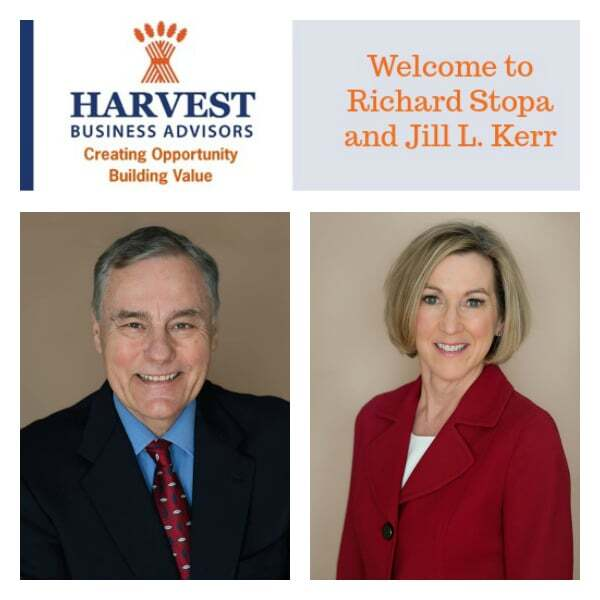 Richard Stopa and Jill Kerr join Harvest Business Advisors
