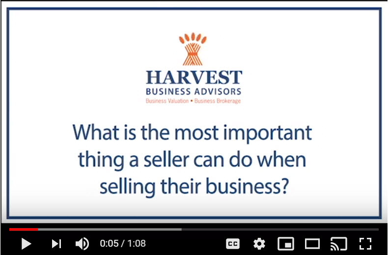 Tips from Harvest Business Advisors on How To Sell Your New Jersey Business (video
