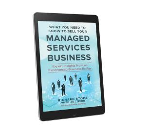 Selling Your Managed Services Business Ebook by Richard Stopa