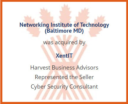 Successful business merger facilitated by Harvest Business Advisors