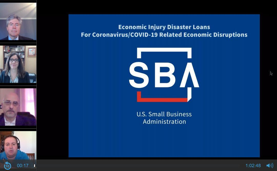 More on SBA PPP and Disaster Recovery Loans